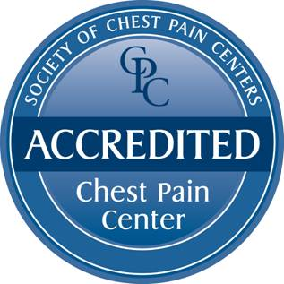 Hillcrest South is an Accredited Chest Pain Center