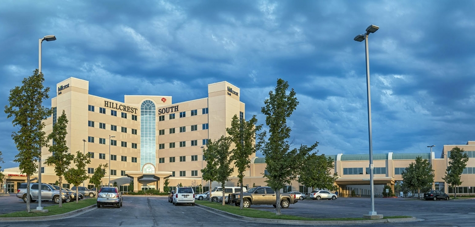 Parking | Hillcrest Hospital South in Tulsa, Oklahoma